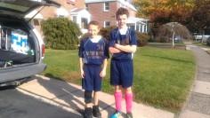 6th grade - CYO soccer